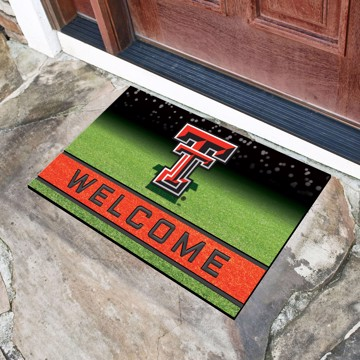 Picture of Texas Tech Crumb Rubber Door Mat