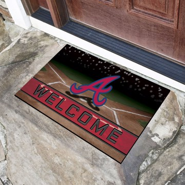 Picture of MLB - Atlanta Braves Crumb Rubber Door Mat