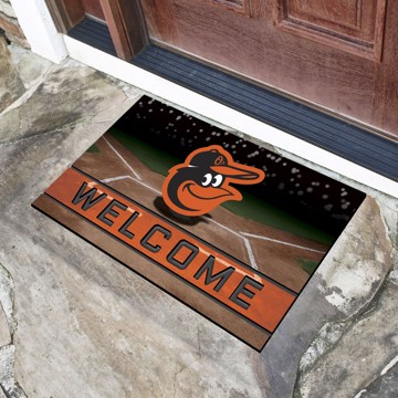 Picture of MLB - Baltimore Orioles Crumb Rubber Door Mat
