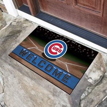 Picture of MLB - Chicago Cubs Crumb Rubber Door Mat