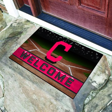 Picture of MLB - Cleveland Indians Crumb Rubber Door Mat