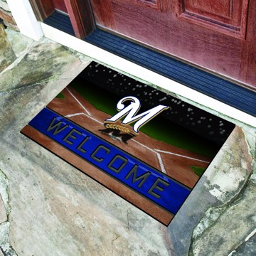 Picture of MLB - Milwaukee Brewers Crumb Rubber Door Mat