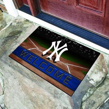 Picture of MLB - New York Yankees Crumb Rubber Door Mat