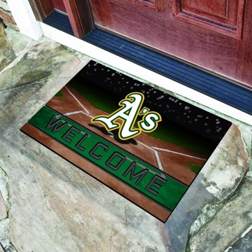 Picture of MLB - Oakland Athletics Crumb Rubber Door Mat