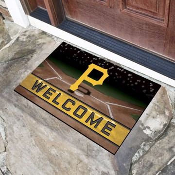 Picture of MLB - Pittsburgh Pirates Crumb Rubber Door Mat
