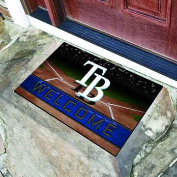 Picture of MLB - Tampa Bay Rays Crumb Rubber Door Mat