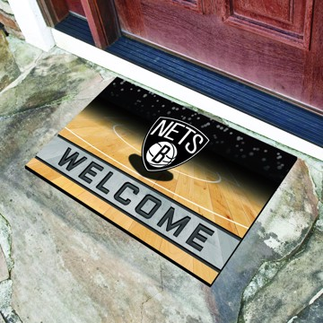 Picture of NBA - Brooklyn Nets Crumb Rubber Door Mat