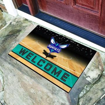 Picture of NBA - Charlotte Hornets Crumb Rubber Door Mat