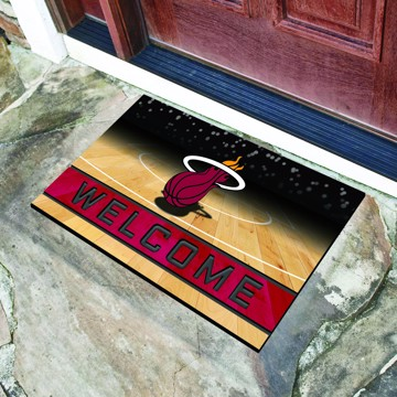Picture of NBA - Miami Heat Crumb Rubber Door Mat