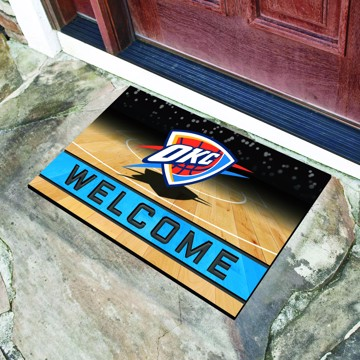 Picture of NBA - Oklahoma City Thunder Crumb Rubber Door Mat