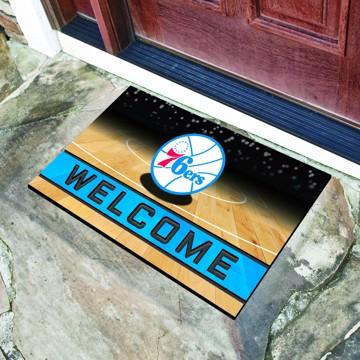 Picture of NBA - Philadelphia 76ers Crumb Rubber Door Mat