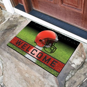 Picture of NFL - Cleveland Browns Crumb Rubber Door Mat