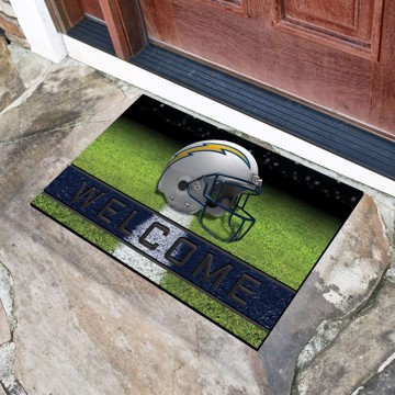 Picture of NFL - Los Angeles Chargers Crumb Rubber Door Mat