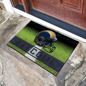 Picture of NFL - Los Angeles Rams Crumb Rubber Door Mat