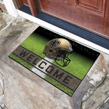 Picture of NFL - New Orleans Saints Crumb Rubber Door Mat