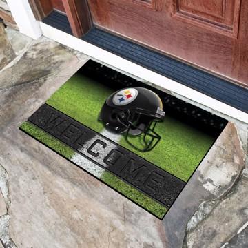 Picture of NFL - Pittsburgh Steelers Crumb Rubber Door Mat