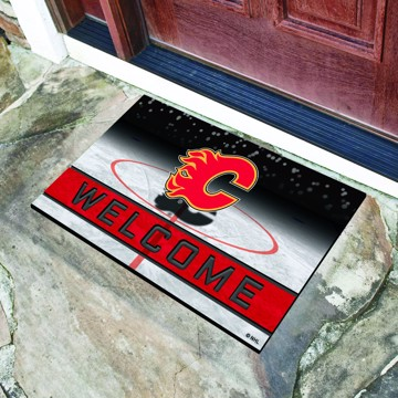 Picture of NHL - Calgary Flames Crumb Rubber Door Mat