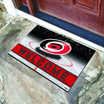 Picture of NHL - Carolina Hurricanes Crumb Rubber Door Mat