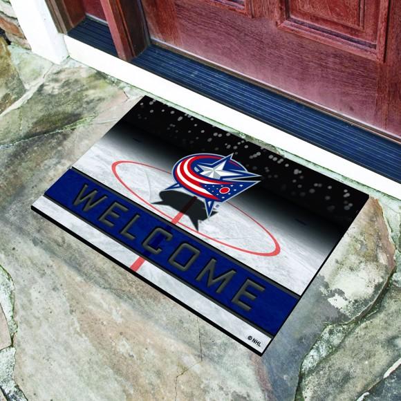 Picture of NHL - Columbus Blue Jackets Crumb Rubber Door Mat