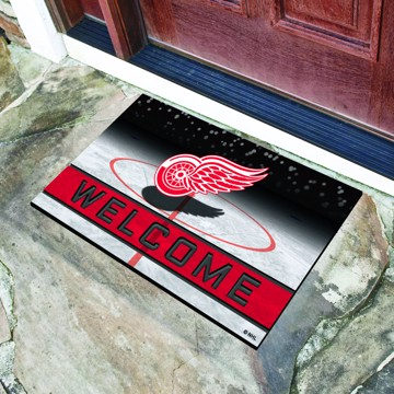 Picture of NHL - Detroit Red Wings Crumb Rubber Door Mat