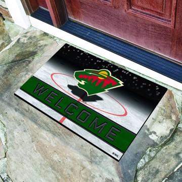 Picture of NHL - Minnesota Wild Crumb Rubber Door Mat