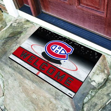 Picture of NHL - Montreal Canadiens Crumb Rubber Door Mat