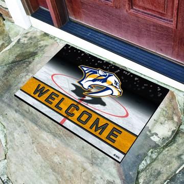 Picture of NHL - Nashville Predators Crumb Rubber Door Mat