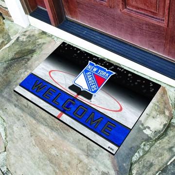 Picture of NHL - New York Rangers Crumb Rubber Door Mat