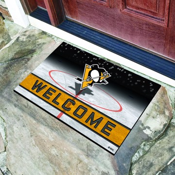 Picture of NHL - Pittsburgh Penguins Crumb Rubber Door Mat