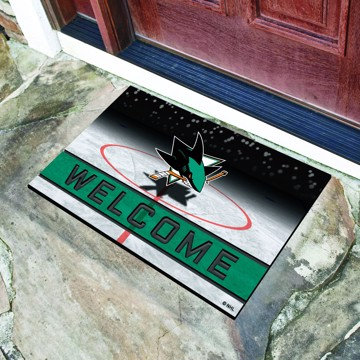 Picture of NHL - San Jose Sharks Crumb Rubber Door Mat