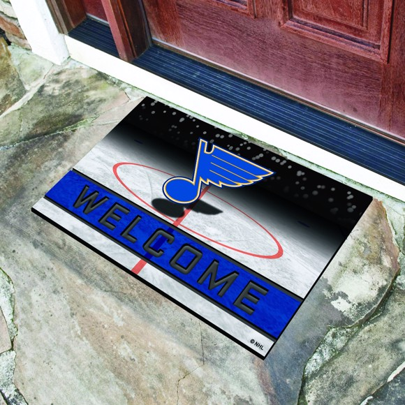 Picture of NHL - St. Louis Blues Crumb Rubber Door Mat