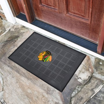 Picture of NHL - Chicago Blackhawks Vinyl Door Mat