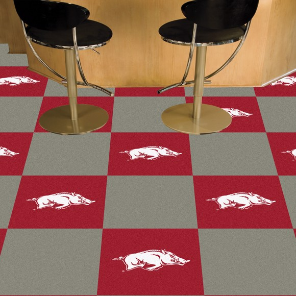 Picture of Arkansas Team Carpet Tiles
