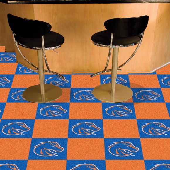 Picture of Boise State Team Carpet Tiles