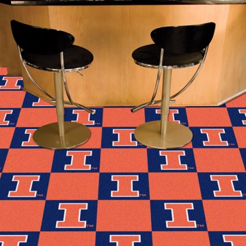 Picture of Illinois Team Carpet Tiles