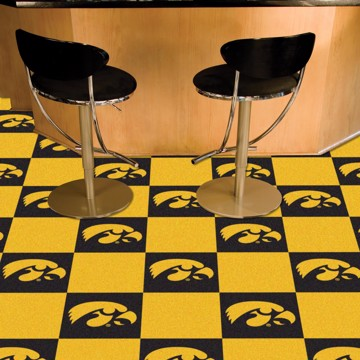 Picture of Iowa Team Carpet Tiles