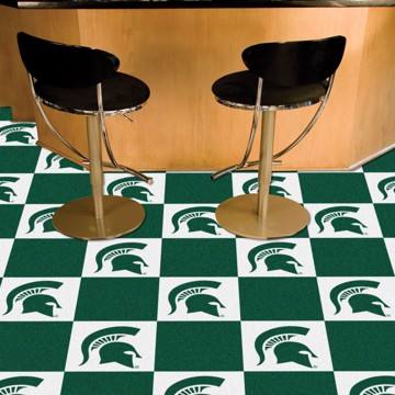 Picture of Michigan State Team Carpet Tiles