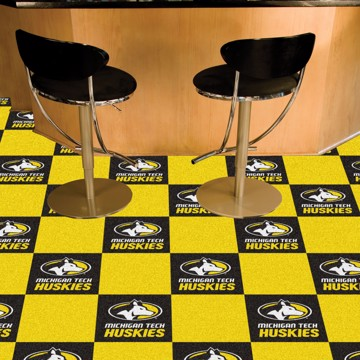 Picture of Michigan Tech Team Carpet Tiles