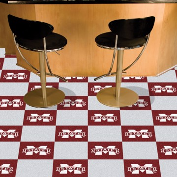 Picture of Mississippi State Team Carpet Tiles