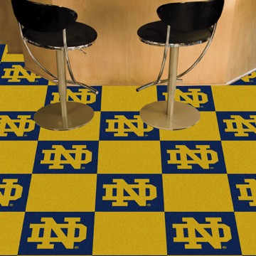 Picture of Notre Dame Team Carpet Tiles