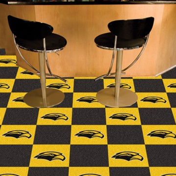 Picture of Southern Miss Team Carpet Tiles
