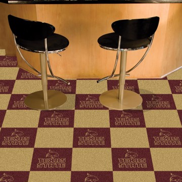 Picture of Texas State Team Carpet Tiles