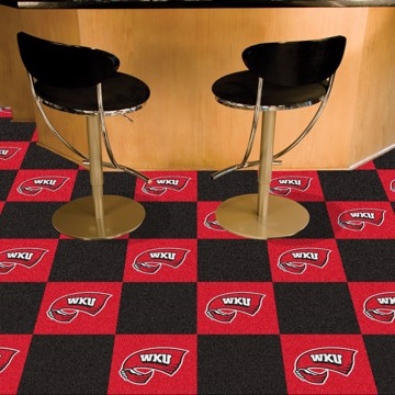 Picture of Western Kentucky Team Carpet Tiles