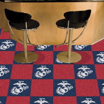 Picture of U.S. Marines Team Carpet Tiles