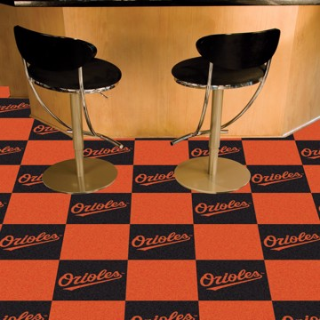 Picture of MLB - Baltimore Orioles Team Carpet Tiles