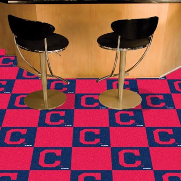Picture of MLB - Cleveland Indians Team Carpet Tiles