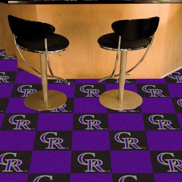 Picture of MLB - Colorado Rockies Team Carpet Tiles