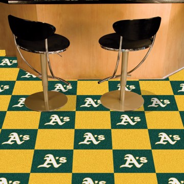 Picture of MLB - Oakland Athletics Team Carpet Tiles