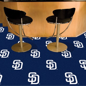 Picture of MLB - San Diego Padres Team Carpet Tiles