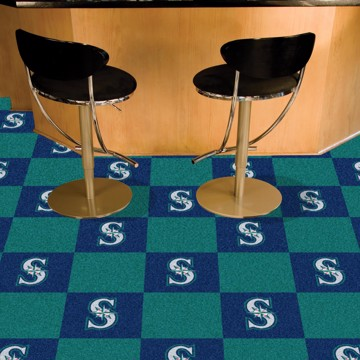 Picture of MLB - Seattle Mariners Team Carpet Tiles